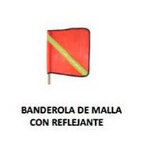 banderola de malla con reflejante