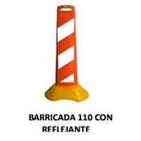 barricada 110 con reflejante