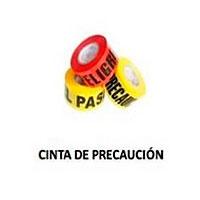 cinta de precaución