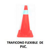 traficono flexible de pvc